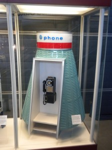 The phone booths