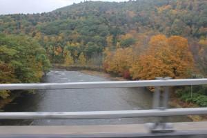Scenic drive in New York State