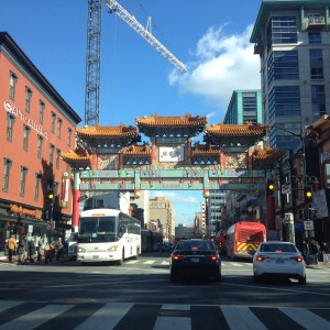 The arches of Chinatown