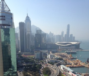 From the Excelsior in HKG