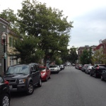 Streets around M Street