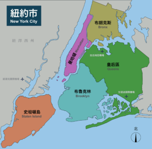NYC & Long Island district map