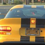 Interesting auto license plates