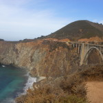 Bixby Creek bridge and CA 1