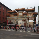 DC Chinatown and the arch