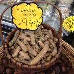 Wild turmeric 姜黄 and buddha's hand