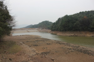The water reservoir 水库