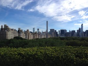 the Roof Garden @ the Met