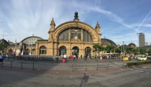 Frankfurt main station Hauptbahnhof
