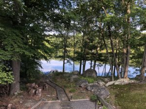 The rocks @ Elm Lake