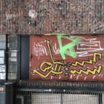 New York arts – graffiti and doors