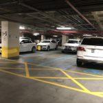 The handicap lots @ New World Mall