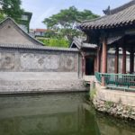 The four pavilions