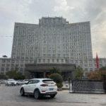The hotel in Lujiang